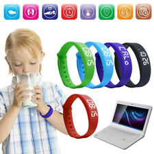 Fitness Band Activity Tracker Children Watch Bracelet Kid Pedometer Fitbit Style