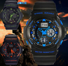 Men's Classic Quartz Digital Analog Military Army Sport Waterproof Wrist Watch