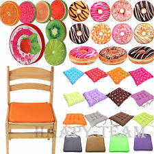 SOFT GARDEN DINING CHAIR ARMCHAIR BOOSTER CUSHION COMFY COTTON STUFFED SEAT PADS