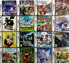 NINTENDO DS / 2DS / 3DS GAMES SELECTION ****FREE UK DELIVERY***