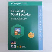Kaspersky Total Security 2018 1,2,3,5,10 pc/devices 1 year Windows/MAC Antivirus