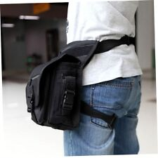Outdoor Tactical Military Drop Leg Bag Panel Utility Waist Belt Pouch Bag XP