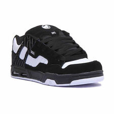 DVS Enduro Heir Shoes Black White Pinstripe Nubuck