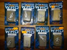 Doctor Who DW 428, 432, 433, 609, 706, 801, 804 (Harlequin Miniatures)