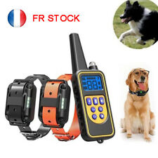 Pet Dog Electric Rechargeable Remote Control Training Collar Anti Bark Trainer