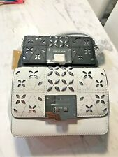 Michael Kors Tina Convertible Crossbody Bag or Hand Clutch in  Saffiano Stud New