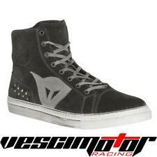 Scarpa Dainese Street Biker Air Shoes Black/Anthracite (Nero/Antracite)