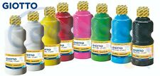 Tempera Pronta Lavabile School Paint Giotto Flacone 250 ml Scuola