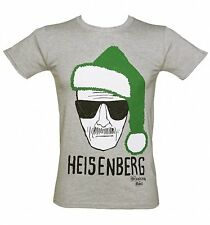 Breaking Bad - Heisenberg BABBO NATALE CAPPELLO NATALE - T-shirt Ufficiale Uomo