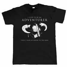I Used To be An Adventurer, RPG Video Game Mens T Shirt