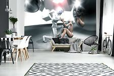 Wall Mural Photo Wallpaper Picture EASY-INSTALL Fleece 3D Abstract Art Figures
