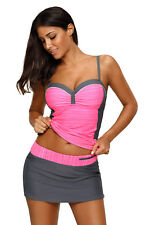 Womens Tankini and Skirted Swimsuit Sets