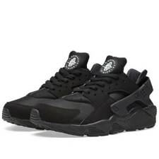AUTHENTIC Nike Huarache Run Black Triple Blackout All Blk 318429 003 Men sz