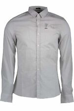 GR 75743 Blanc chemise homme guess jeans ; mani