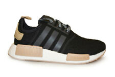 Mens Adidas NMD R1 - CQ0760 - Black Wool Khaki Trainers