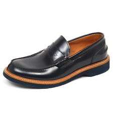 E4624 mocassino uomo dark blu SEBOY'S scarpe loafer shoe man