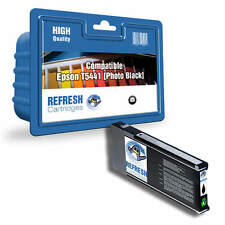 REFRESH CARTRIDGES PIGMENT T5441XL PHOTO BLACK INK COMPATIBLE WITH EPSON PRINTER