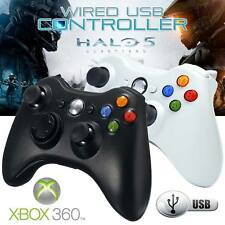 2018 USB Wired Xbox 360 Controller Game Pad For Microsoft Xbox 360 PC Windows UK