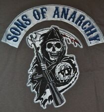 Sons Of Anarchy Samcro MIETITORE Logo T-shirt T-Shirt LICENZA UFFICIALE SOA