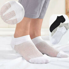 3-6 Pairs Women Cotton Thin Mesh No Show Loafer Boat Low Cut Soft Ankle Socks7-9