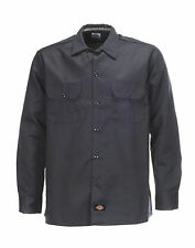 Chemise Dickies SOUS LICENCE Long Sleeve Slim Grey (S/M/L/XL/2XL) workwear