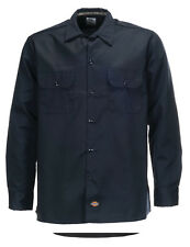 Chemise Dickies SOUS LICENCE Long Sleeve Slim darkblue (S au XL) manches longues