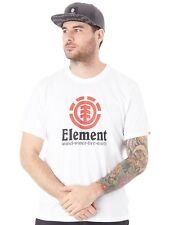 Element T-Shirt Vertical Optic Weiß