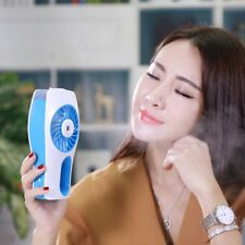 Mini Portable Handheld Fan Humidifier USB Rechargeable Mini Spraying Air Fan TD