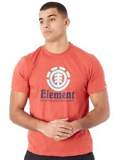 Element T-Shirt Vertical Aurora Rot Heather