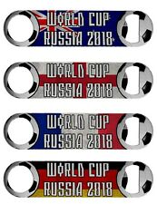 World Cup 2018 Flag Cool Stainless Steel Beer Bottle Opener Tool - Large