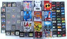 Gameboy Original, Color, and Advance Games Selection