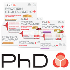 PHD Nutrition Protein Flapjacks 75g Bars Protein Oats Bars Various Sizes
