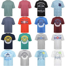 New Summer Wear 100% Cotton Big Boys Men's Crew Neck T Shirts Front Printed Tops
