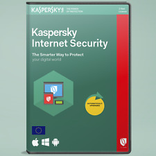 Kaspersky Internet Security 2018 1-2-3-5 pc/devices 1 year Windows-MAC Antivirus