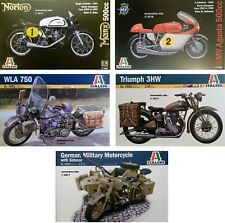 Italeri 1/9 Motor Bike New Plastic Model Kit 1 9