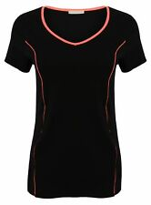 Cotton Ladies T Shirt Running Fitness Jogging Yoga New Womens Breathable