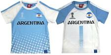 Boys Top FIFA Football Tee World Cup 2018 Russia ARGENTINA Kids 4 to 12 Years