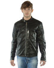 Imperial Mantel Jacke 128€ -50% Herren MADE IN ITALY Schwarz U3025006-