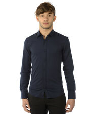 Imperial Hemd 80€ -50% Herren MADE IN ITALY Blau C2118B426-