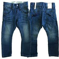 Name It leichte Jungen Stretch Jeans Hose lang Baggy Style Schmales Bein 92 -140