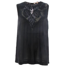Top Scee Twinset negro SS82HN para mujer Scee by Twin set SS82HNNERO