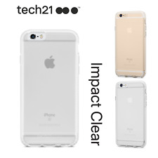 Genuine Tech21 Impact Clear Protective Case/Cover For iPhone 5, 5s, SE, 6 & 6s