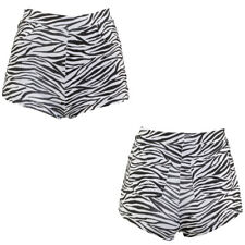 Pantaloncini Anniversario Culottes Zebraprint Stampa Animalier Sexy Outfit Party