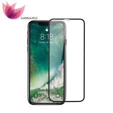 3D Full Coverage Anti-Bubble Tempered Glass Screen Protector for Apple iPhone X