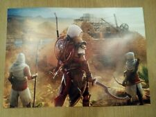 Assassins Creed Origins Official Art Card Poster XBOX One Official Merchandise