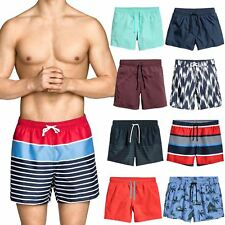 Mens H&M Trunks Swimwear Beach Summer Swimming Quick Dry Boys 2018 Style Shorts