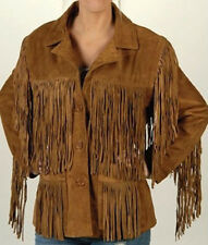 Fringe Suede Leather Jackets, Fringe Jacket, Cow Boy jacket, Men western Jacket