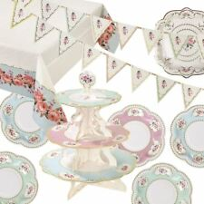 Vintage Floral Afternoon Tea Party Shabby Chic Partyware