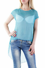 GR 72951 Turchese top donna sexy woman ;  sexy woman donna top made in italy: se