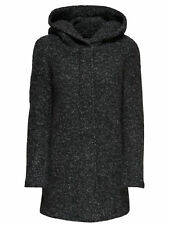 GR 88692 Nero cappotto donna only ;  indie noma wool coat 15136117 only - cappot